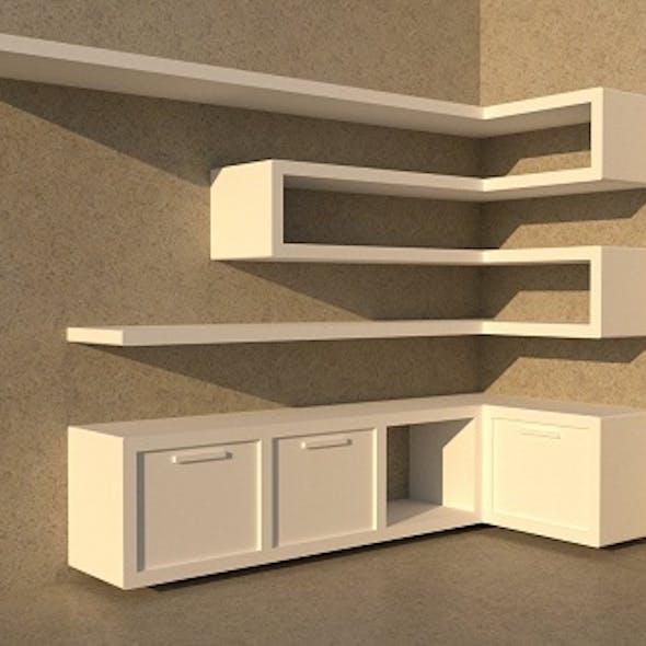 Shelf modern
