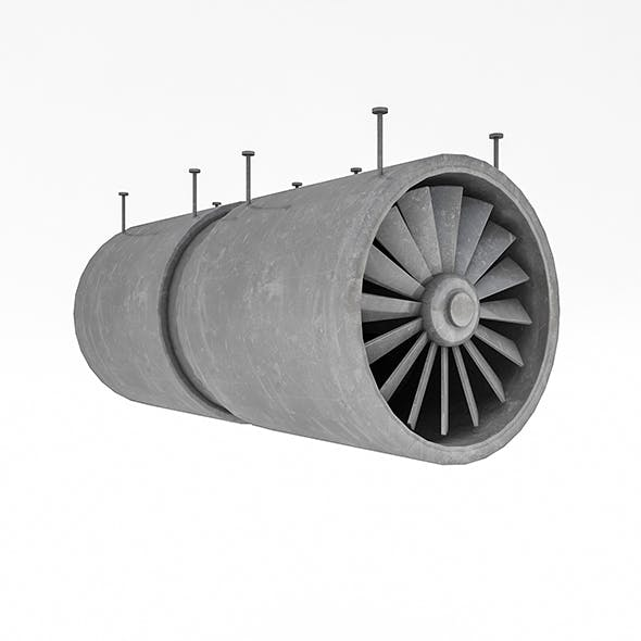 Tunnel Ventilation Fan Model