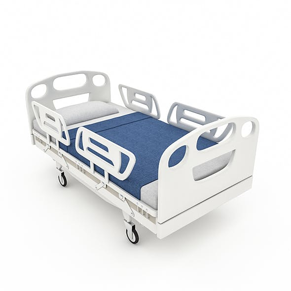 3D Intensive Care Bed Model