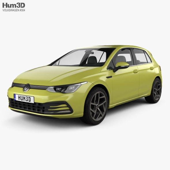 Volkswagen Golf Style 5-door hatchback 2020