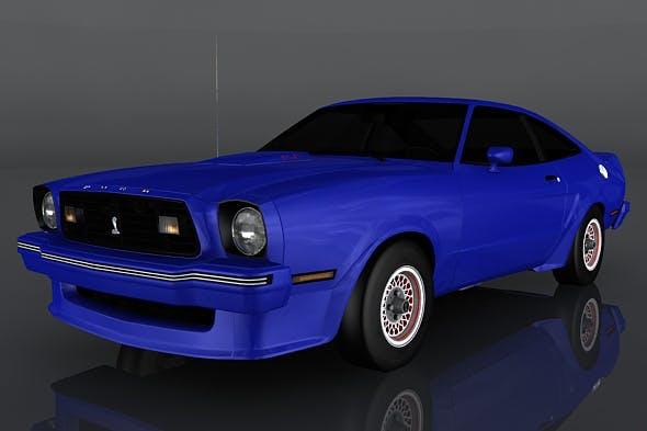 Ford Mustang King Cobra - 3DOcean Item for Sale