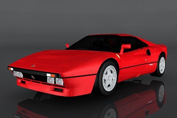 1984 Ferrari GTO - 3DOcean Item for Sale