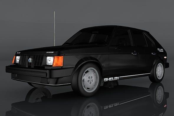 Dodge Shelby Omni - 3DOcean Item for Sale
