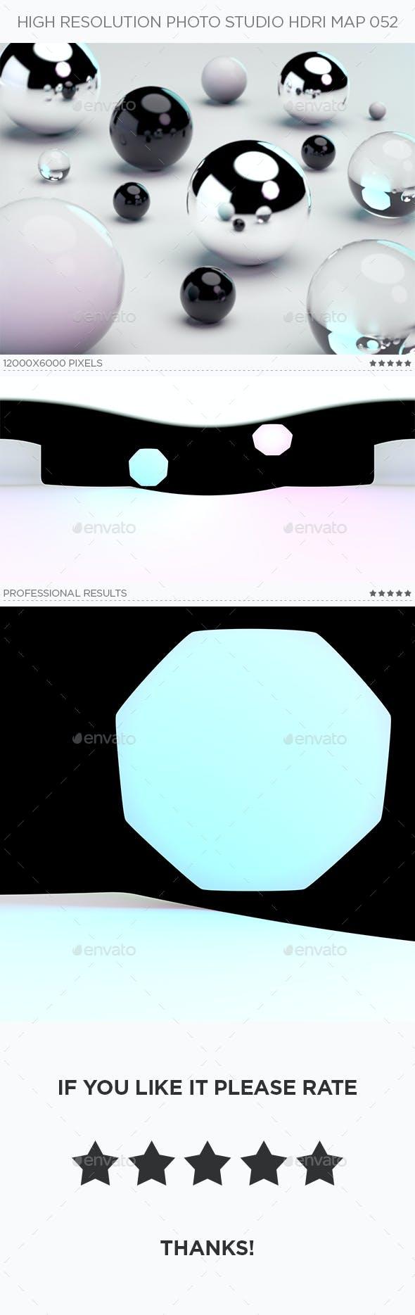High Resolution Photo Studio HDRi Map 052 - 3DOcean Item for Sale