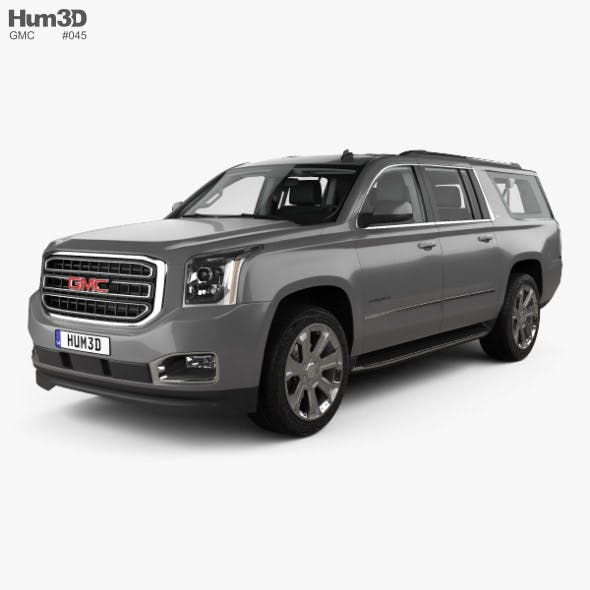 GMC Yukon XL with HQ interior 2014