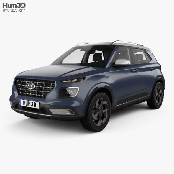 Hyundai Venue with HQ interior 2020