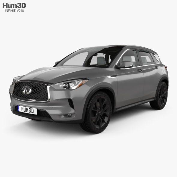 Infiniti QX50 with HQ interior 2019