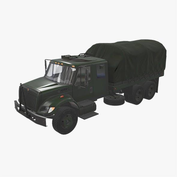 Military Truck Green