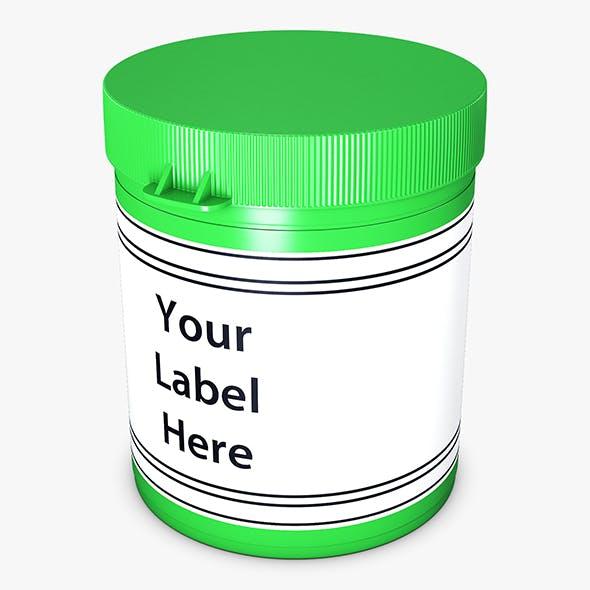 Medicine Pill Bottle v 1