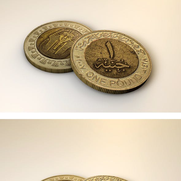 Egyptian Pound Coin
