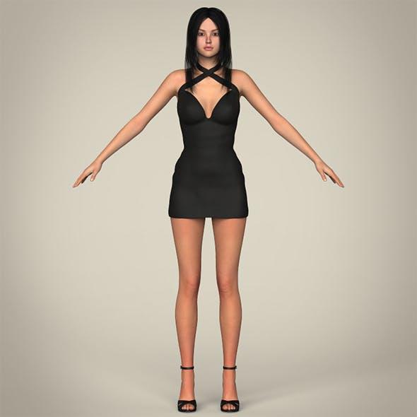 Realistic Sexy Teen Girl