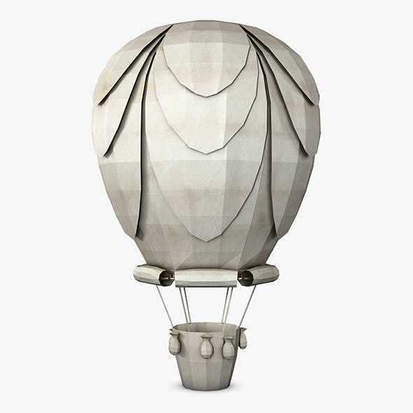 Hot Air Balloon Paper v 1