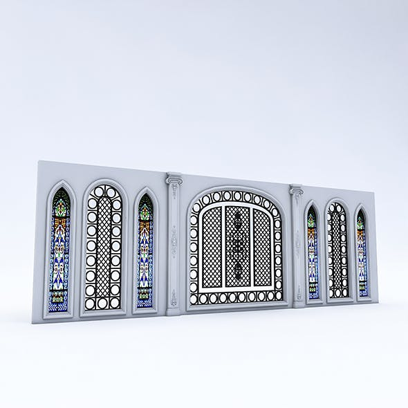 Arabic Wall Panel