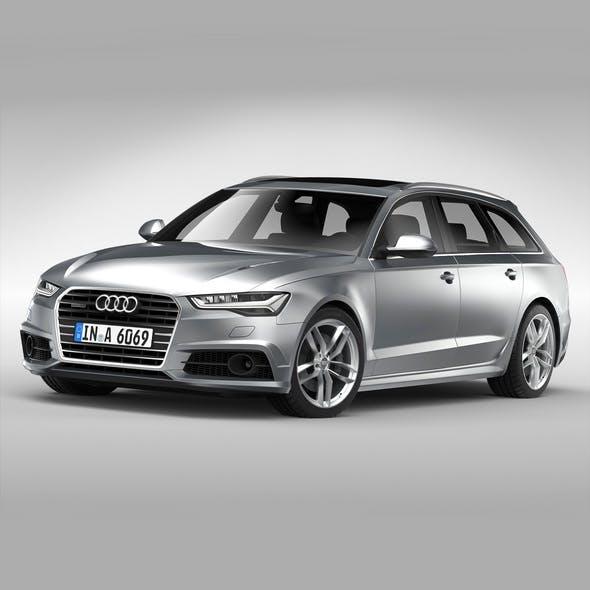 Audi A6 Avant (2017)