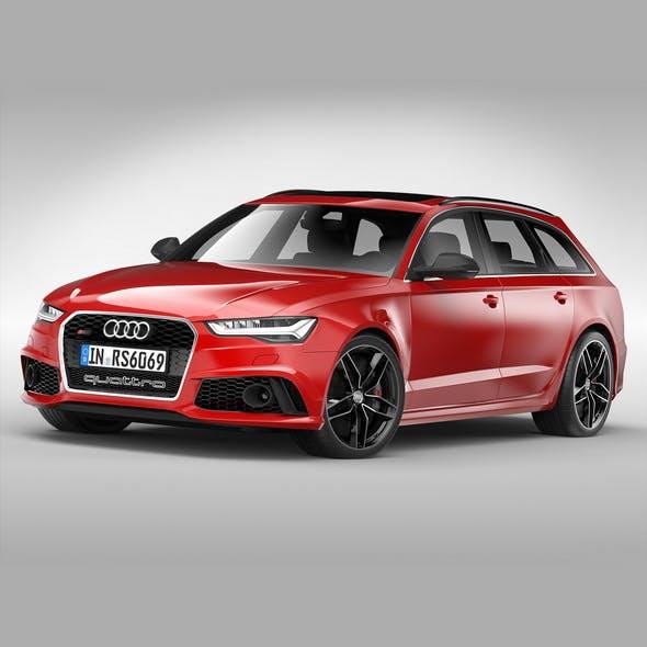 Audi RS6 Avant (2017)