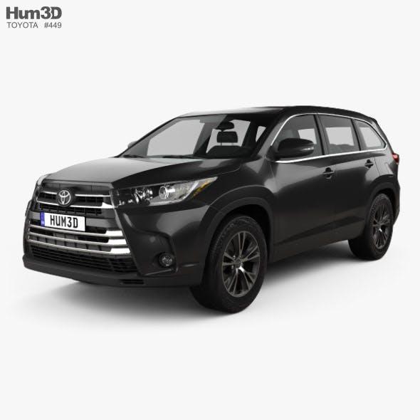 Toyota Highlander LEplus 2016