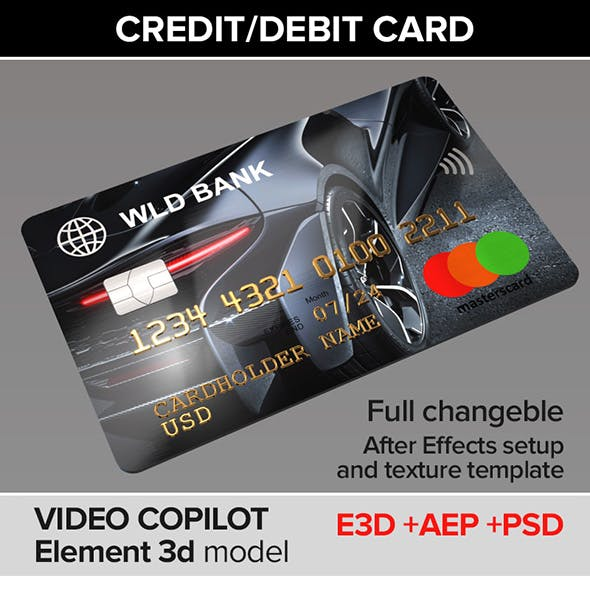 Credit/Debit Card Customizable