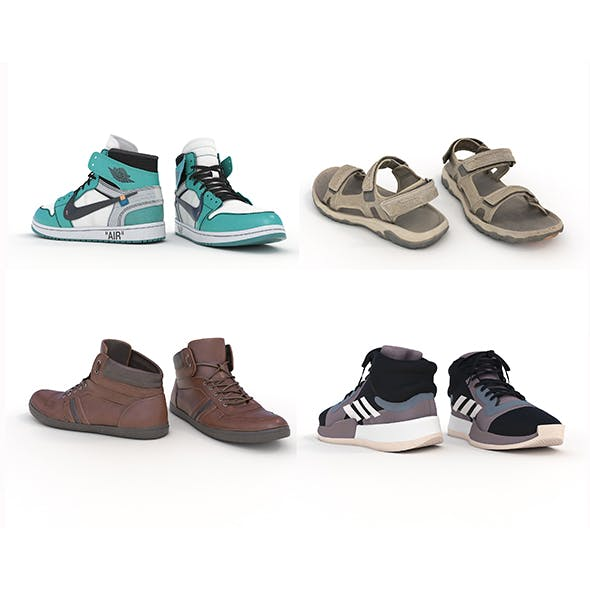 Shoes Collection Set 4