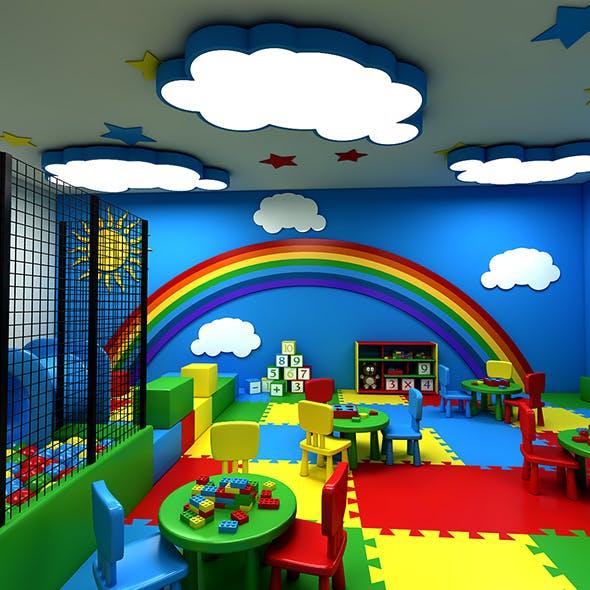 3D Kindergarten Model