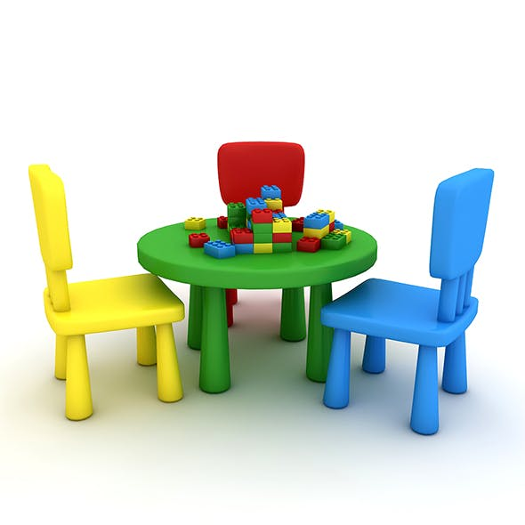 Kindergarten Table Chair