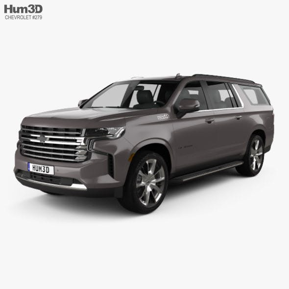 Chevrolet Suburban High Country 2020
