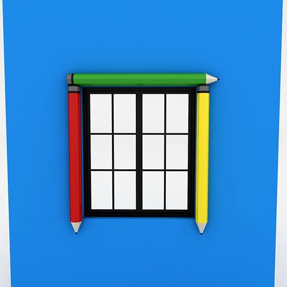 Kindergarten Window