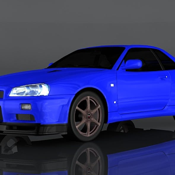 Nissan Skyline GT-R V-Spec II R34