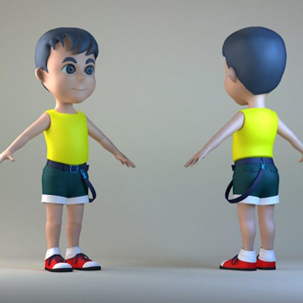 Cartoon characters, Cartoon Boys, children, primary school students, middle school students, men