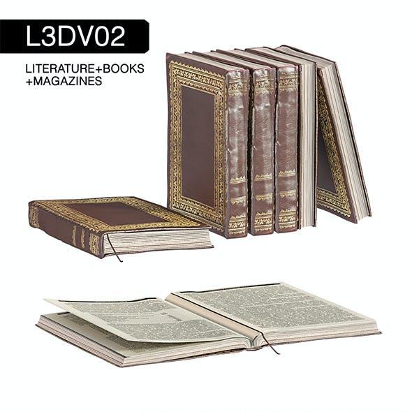 L3DV02G01 - books set