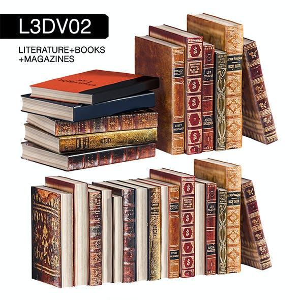 L3DV02G02 - books set