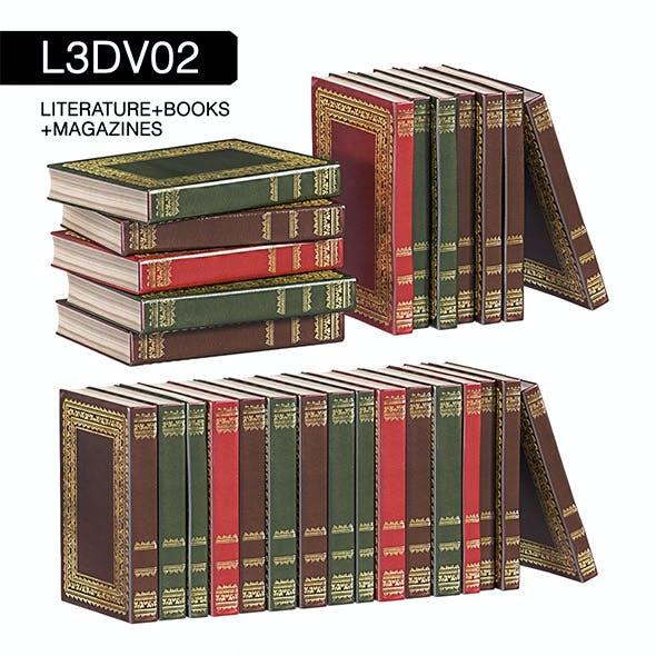 L3DV02G03 - books set