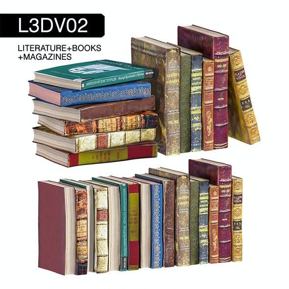 L3DV02G04 - books set