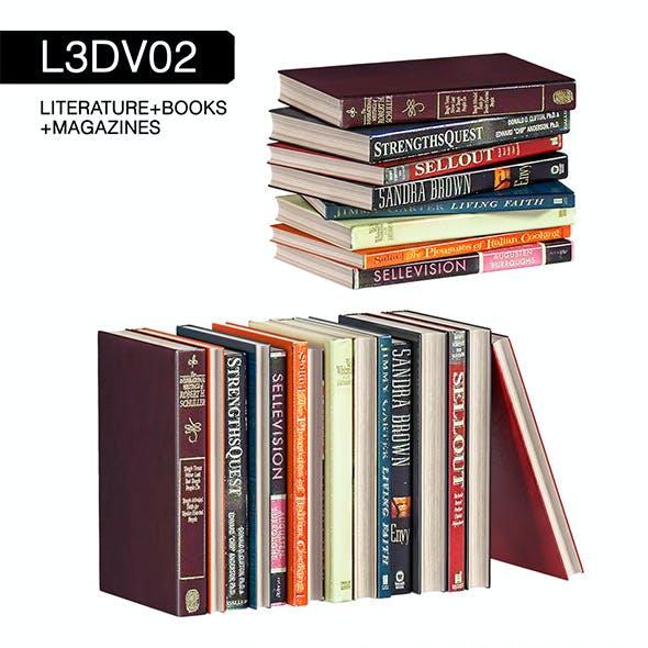 L3DV02G06 - books set