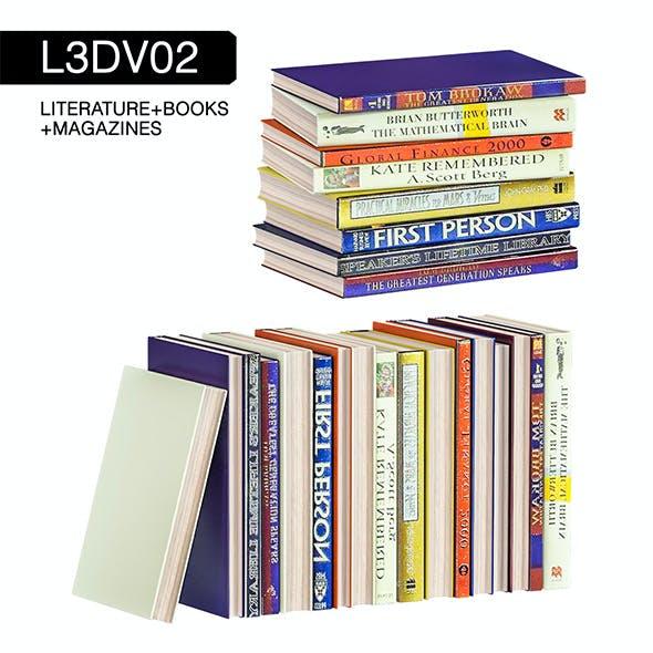 L3DV02G07 - books set