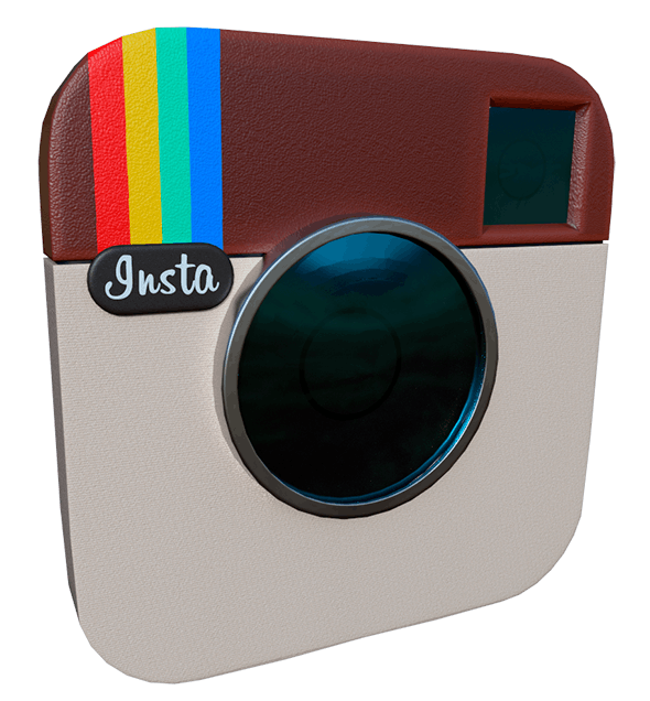 Instagram Icon - 3DOcean Item for Sale