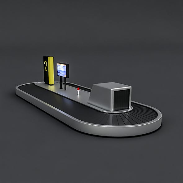 Airport Luggage Model