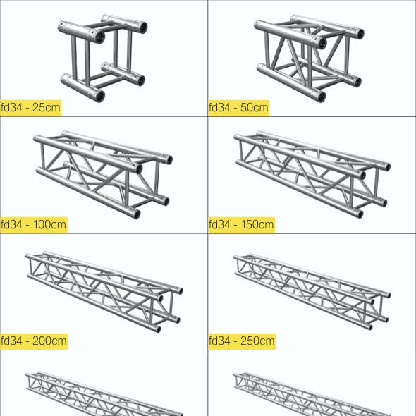 Complete FD34 Truss-System