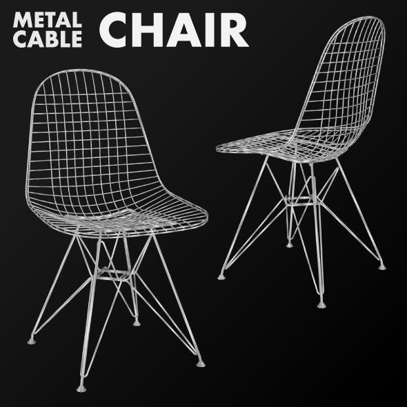 Metal cable chair
