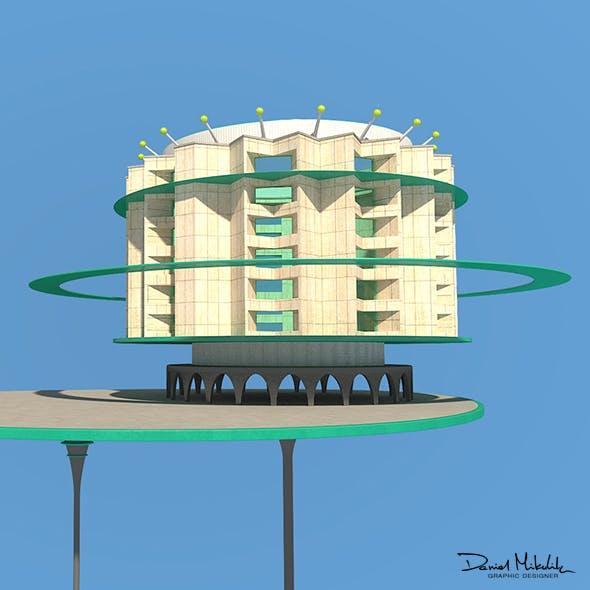 Futuristic Architecture Skyscraper #08