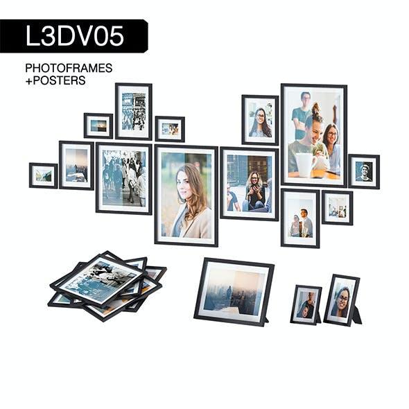 L3DV05G01 - photo frames set