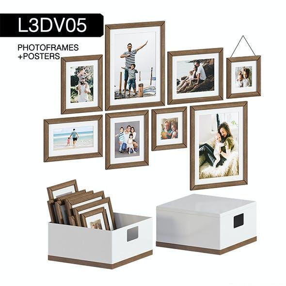 L3DV05G03 - photo frames boxes set