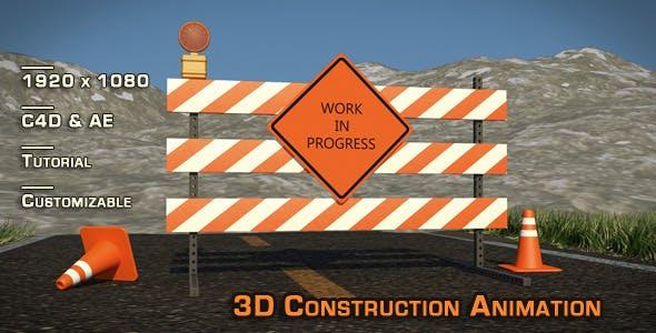 """Site Construction"" 3D Animation & Models - 3DOcean Item for Sale"