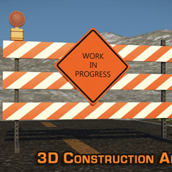 """Site Construction"" 3D Animation & Models"