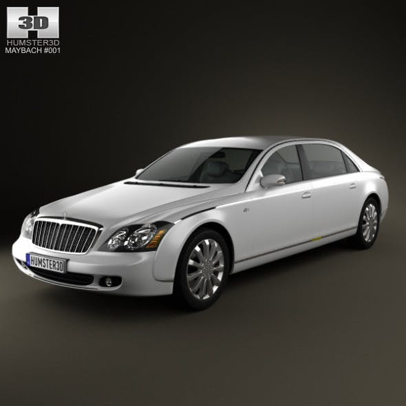 Maybach 62S 2011 - 3DOcean Item for Sale