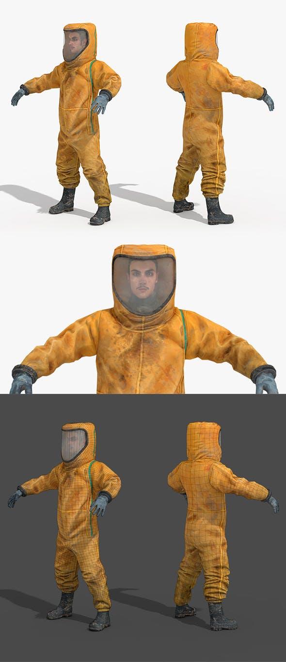 Hazmat Suit - 3DOcean Item for Sale