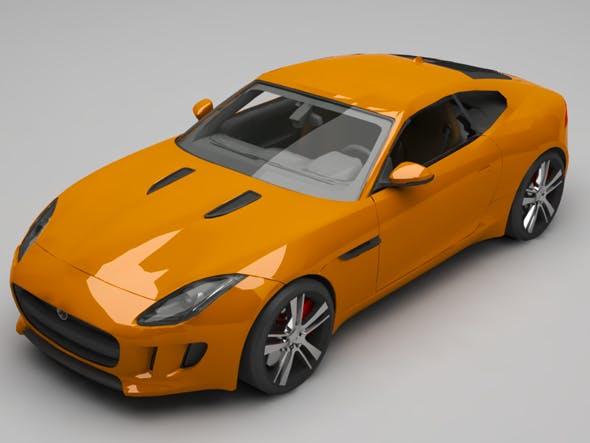 Jaguar F coupe - 3DOcean Item for Sale
