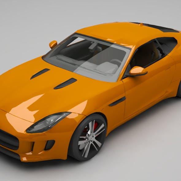 Jaguar F coupe