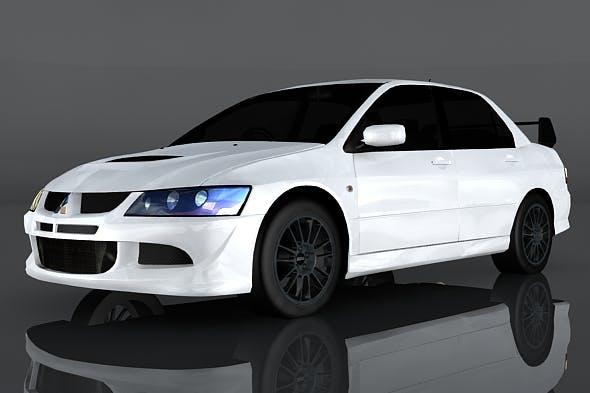 Mitsubishi Lancer Evolution - 3DOcean Item for Sale