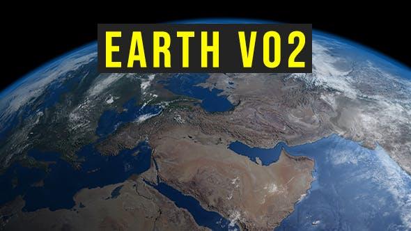 Earth v02 - 3DOcean Item for Sale