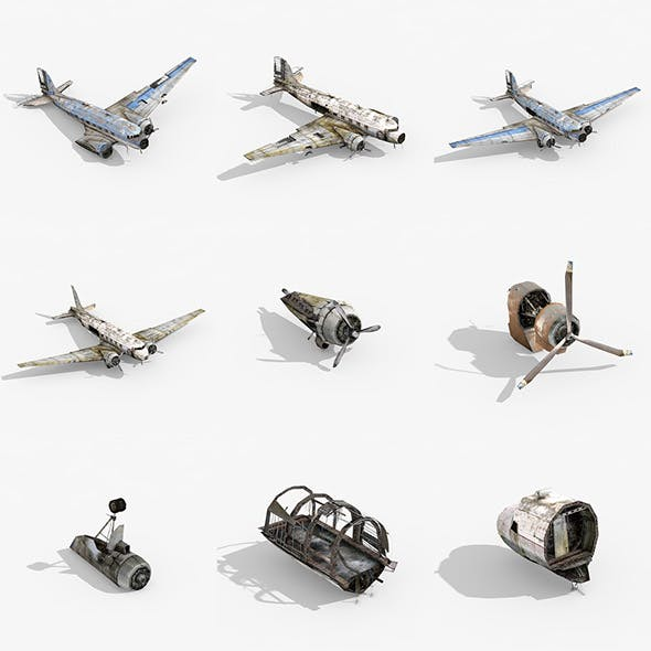 Dead Airplanes Collection